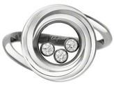 Chopard 18K White Gold Happy Emotions Diamond Ring 8292216-1010 Size: 5
