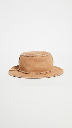 Hat Attack Faux Shearling Reversible Bucket Hat