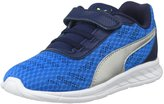 Puma Meteor (Inf/Tod) - Electric Blue Lemonade Silver - 8 Toddler