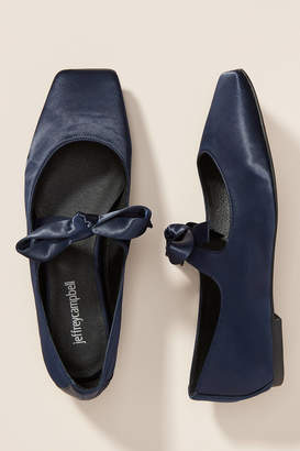 Jeffrey Campbell Bow Square-Toed Flats