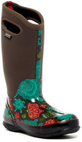 Bogs Classic Winter Bloom Tall Waterproof Rain Boot