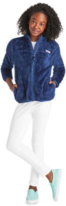 Vineyard Vines Girls Plush Teddy Fleece Full-Zip Jacket