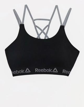 Reebok Seamless Crop Top in black