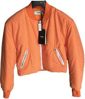 Fendi Orange Cotton Jackets