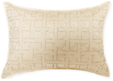 Ann Gish Embroidered Lace Beaded Pillow