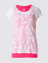 M&S Collection Double Layer T-Shirt