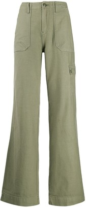 Frame Flared Cargo Trousers