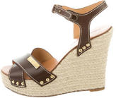 DSQUARED2 Espadrille Wedge Sandals