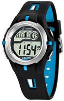 Calypso Unisex Digital Watch with LCD Dial Digital Display and Black Plastic Strap K5511/2