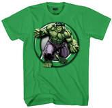 Novelty T Shirts Incredible Hulk Little Kid / Big Kid Boys Short Sleeve T-Shirt