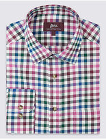 M&S Collection Pure Cotton Regular Fit Shirt with Pocket