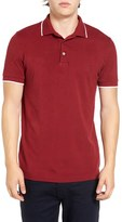 French Connection Men's Tipped Pique Polo