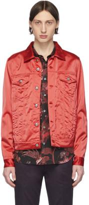 Paul Smith Red Satin Chore Jacket