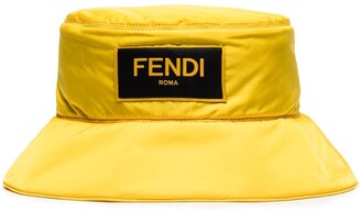 Fendi Logo-Patch Bucket Hat