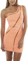 Arden B One Shoulder Bandage Dress