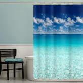 JCPenney Maytex Mills Maytex Escape PEVA Shower Curtain