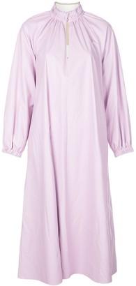 Tibi Belted Edwardian Dress