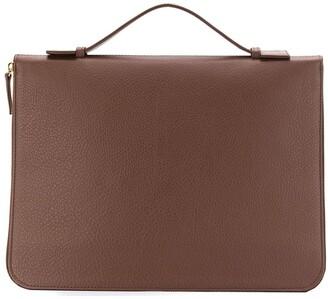 Eleventy Top Handle Zipped Briefcase