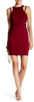 Minuet Bead Detail Fitted Midi Dress
