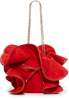 Nina Ricci Mini Lilly Suede Bag