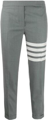 Thom Browne 4-Bar Stripe skinny trousers