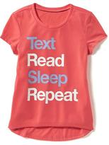 Old Navy Graphic Sleep Tee for Girls