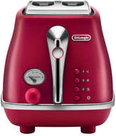 De'Longhi NEW Delonghi Icona Elements 2 Slice Toaster CTOE2003R - Flame Red