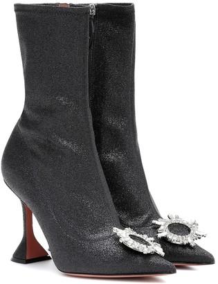 Amina Muaddi Begum embellished ankle boots
