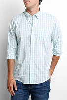 Tailor Vintage Gingham Long Sleeve Button Down Shirt