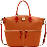 Dooney & Bourke Pebble Large Pocket Satchel