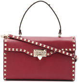 Valentino fold over shoulder bag - women - Calf Leather - One Size
