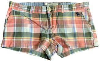 Abercrombie & Fitch Pink Cotton Shorts for Women