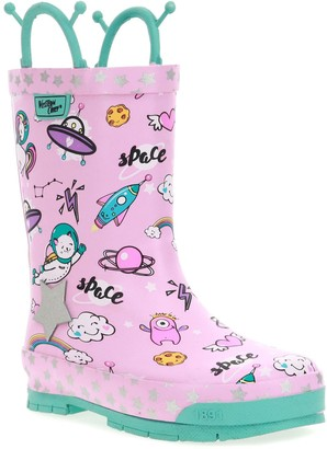 Western Chief Space Party Toddler Girls' Waterproof Rain Boots