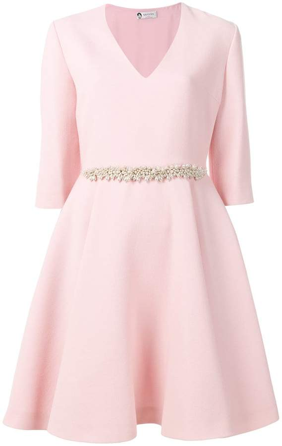 Lanvin pearl embellished dress