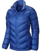 Mountain Hardwear Women's Ratio Printed Down Jacket - Bright Bluet Jackets