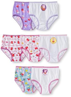 Peppa Pig Toddler Girls' 7pk Briefs -