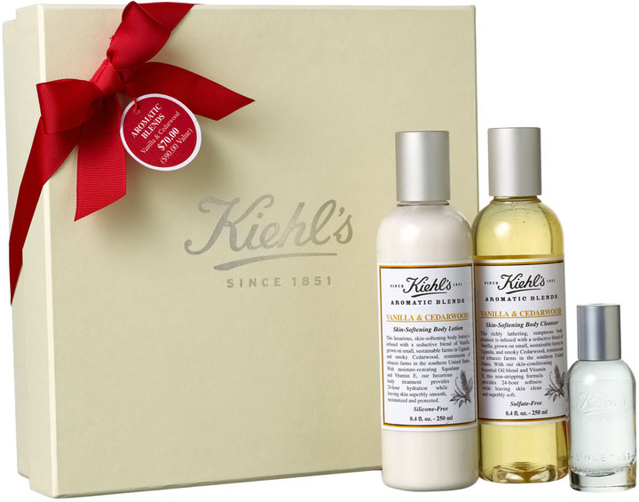 Kiehl's Aromatic Blends-Vanilla & Cedarwood Set