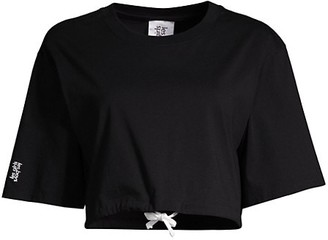 Les Girls Les Boys Jersey Apparel Cropped Top
