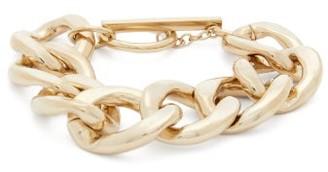 Saint Laurent Curb-link Metal Bracelet - Gold
