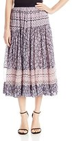 Rebecca Taylor Women's Marrakech Paisley Skirt