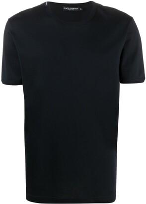 Dolce & Gabbana logo label crew neck T-shirt
