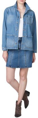 Skin and Threads Oversized Denim Jacket