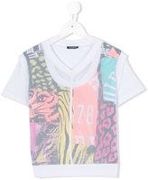 Diesel print T-shirt - kids - Cotton/Polyester - 6 yrs