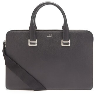 Dunhill Cadogan Grained-leather Briefcase - Mens - Black