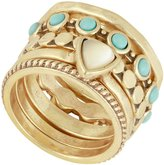 Lucky Brand Turquoise Stacked Ring