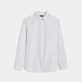 Theory Pinstripe Irving Shirt