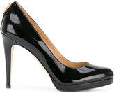 MICHAEL Michael Kors almond toe pumps - women - Leather/Patent Leather/rubber - 36
