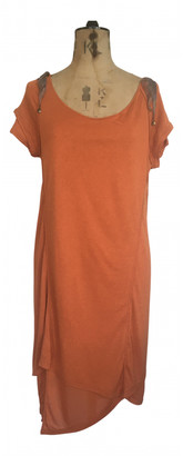 Nina Ricci Orange Viscose Dresses