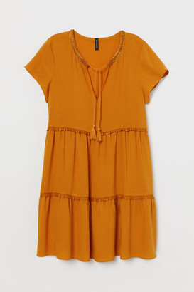H&M Dress with lace trims