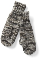 Multi-color marled mittens